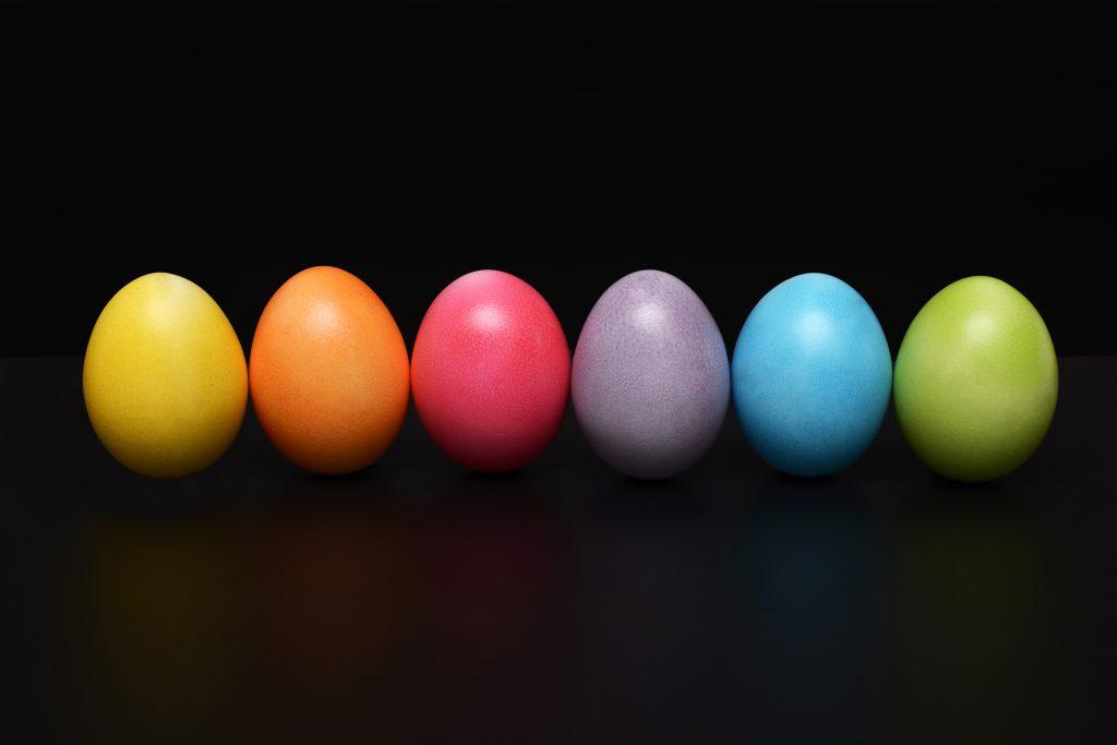 Eier im Vergleich